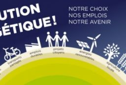"Energy Revolution: ""our choice, our jobs, our future"""