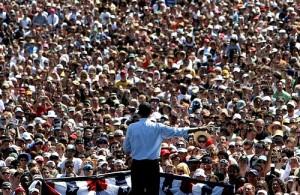 Obama Rally - CC / Flickr
